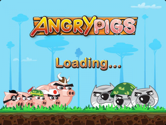 angry pigs game android