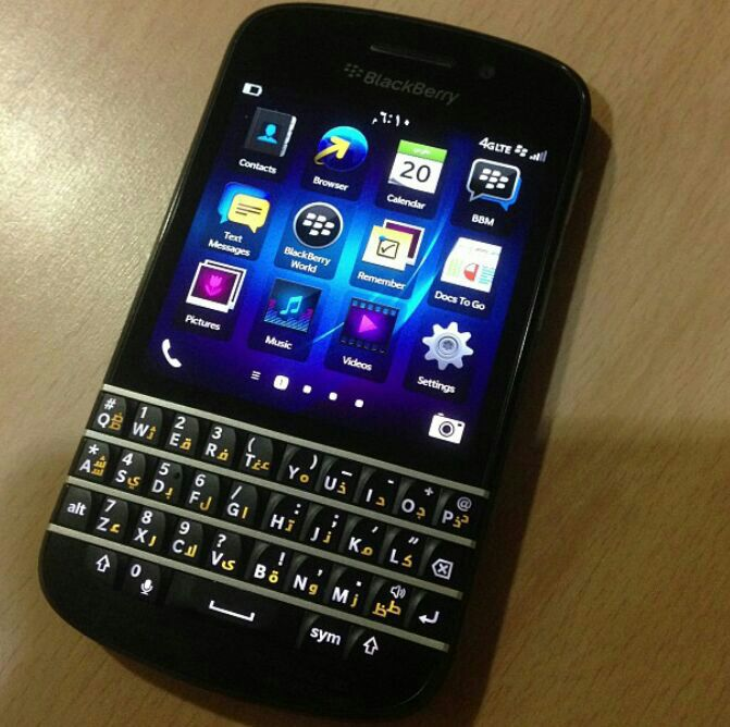 blackberry q10 keyboard - photo #7