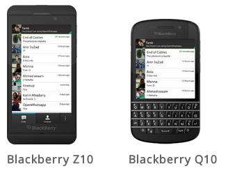 Blackberry link.