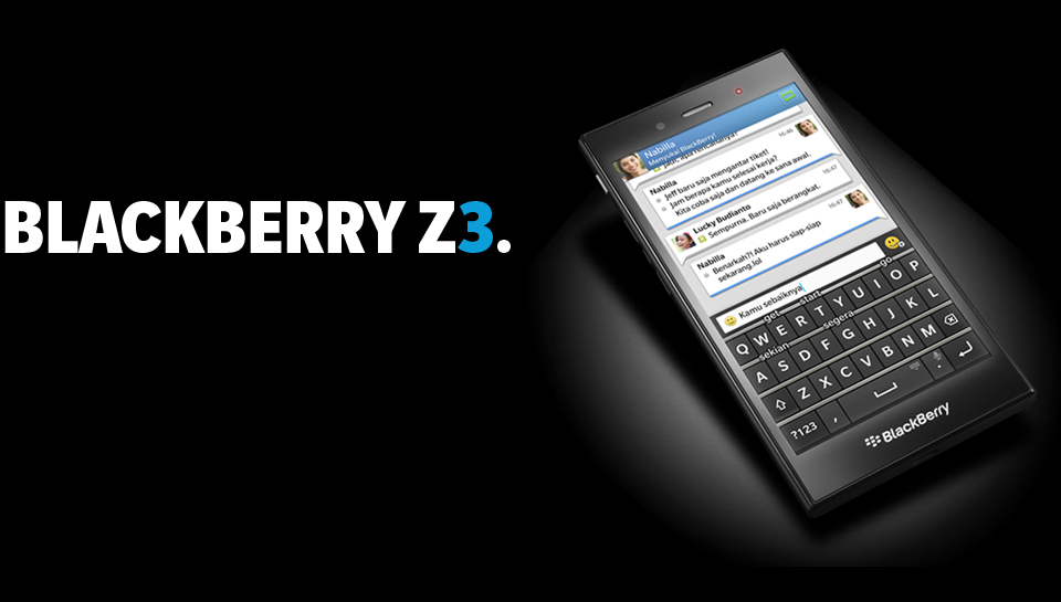 blackberry z3 new nigerian