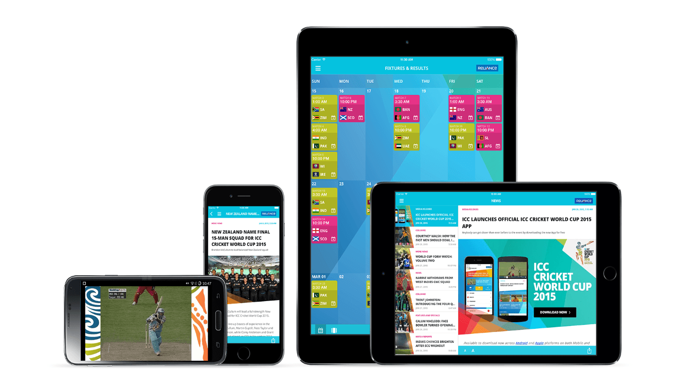 Download the official ICC Cricket World Cup 2015 app now! - BBin