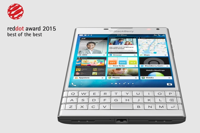 blackberry passport wins best of the best red dot award 2015 bbin. Black Bedroom Furniture Sets. Home Design Ideas