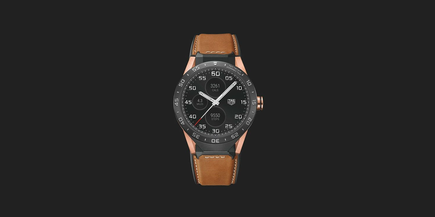 Tag Heuer's new Smartwatch costs $9,900!